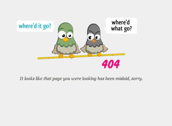 25. 404 error design