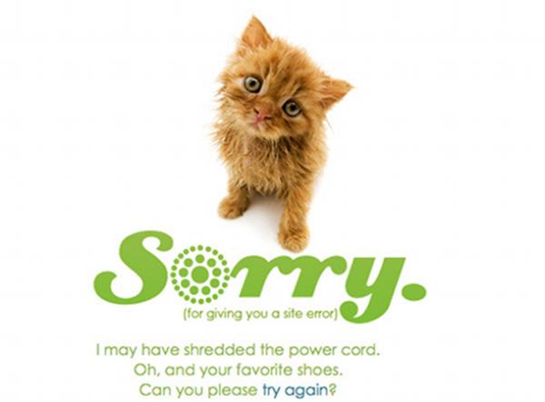 3. 404 error design