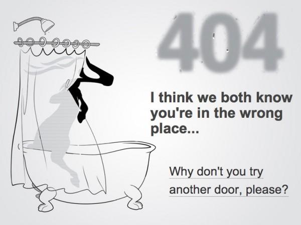 32. 404 error design