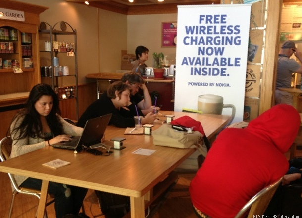 Nokia and Coffee Bean launch wireless charging stations in San Francisco