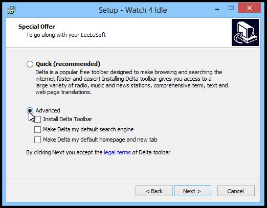 Watch-4-Idle-Setup
