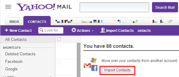 Yahoo Mail Import Contacts1 Back Up Your Facebook Contacts to Yahoo & Gmail