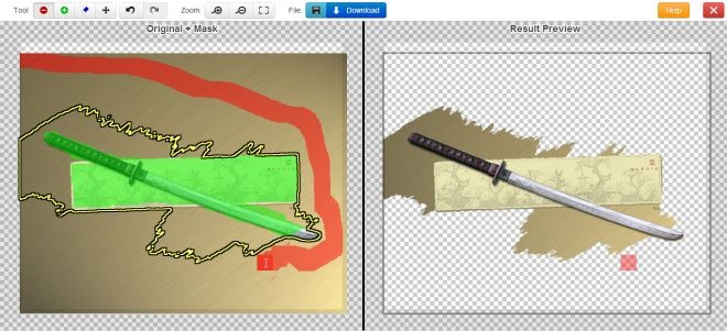 clipping magic13 براحتی با Clipping Magic پس زمینه عکس ها را بطور آنلاین حذف کنید