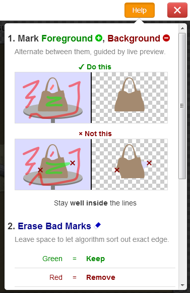 how it works24 براحتی با Clipping Magic پس زمینه عکس ها را بطور آنلاین حذف کنید