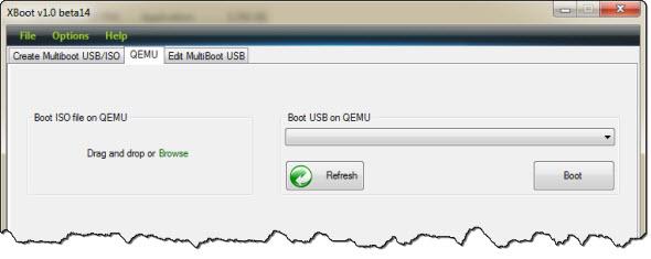 xboot qemu نصب چند سیستم عامل روی یک USB درایو