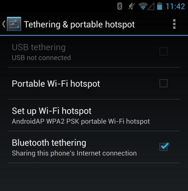 android bluetooth tethering ۵ کاری که می توانید با بلوتوث انجام دهید