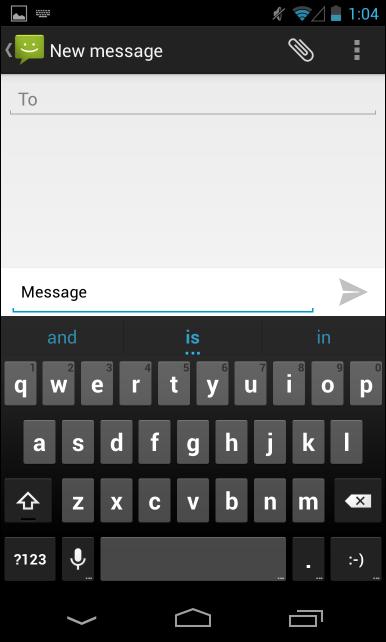 android next word prediction2 پنج ترفند و آموزش برای تسلط بر روی کیبورد اندروید