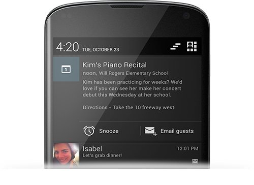 notifications JB 4.2